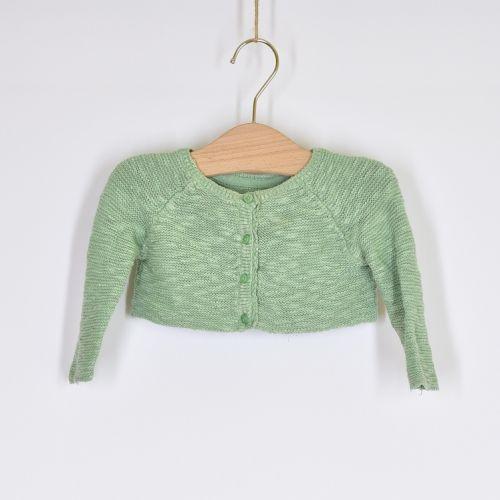Zelený svetr George, vel. 74