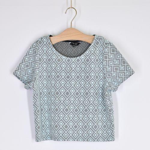 Vzorové triko, vel. 164
