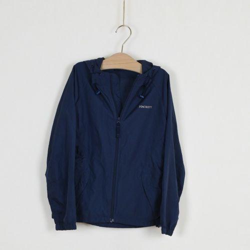 Šusťáková bunda s kapucí, vel. 140