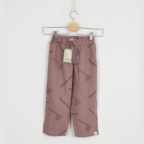 Kalhoty z organické bavlny, vel. 116