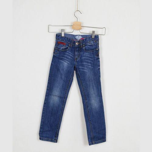 Modré jeans, vel. 116
